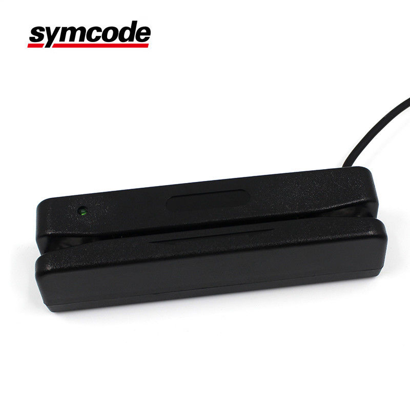 Portable Bidirectional Swipe Magnetic Card Reader USB Programmable Compatible